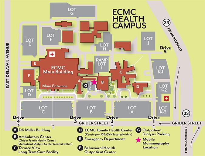Ecmc Health Campus Patients Amp Visitors Ecmc Hospital