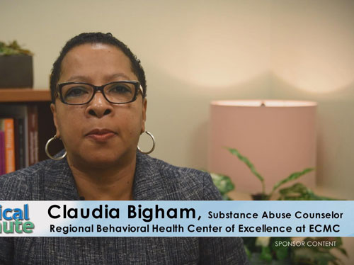 ECMC-Medical-Minute-ClaudiaBigham-OpiateAddiction-MedMin