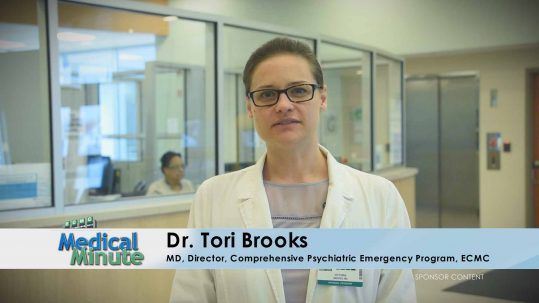 ECMC Medical Minute Dr. Brooks Mental Health Awareness 05.02.16 STILL