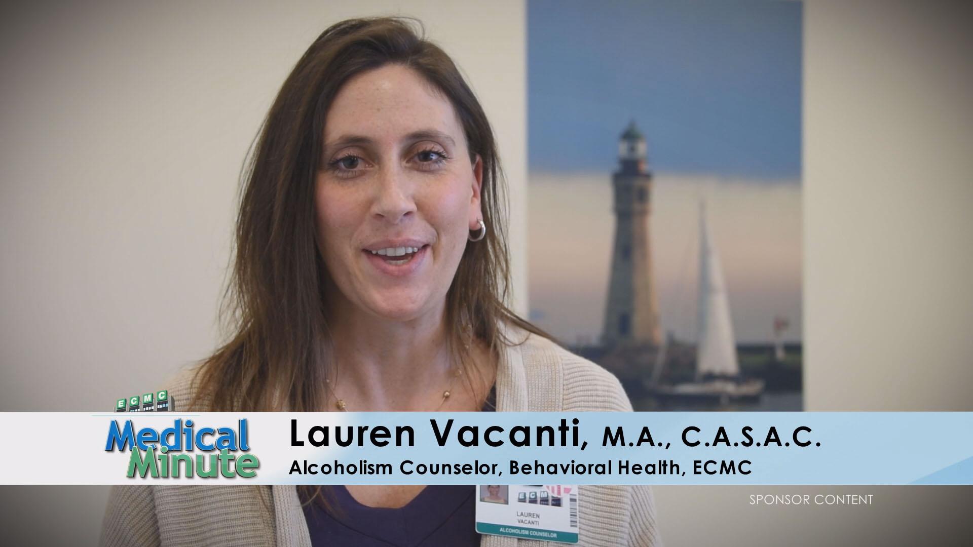 ECMC Medical Minute LaurenVacanti ChemicalDependency 053016 STILL