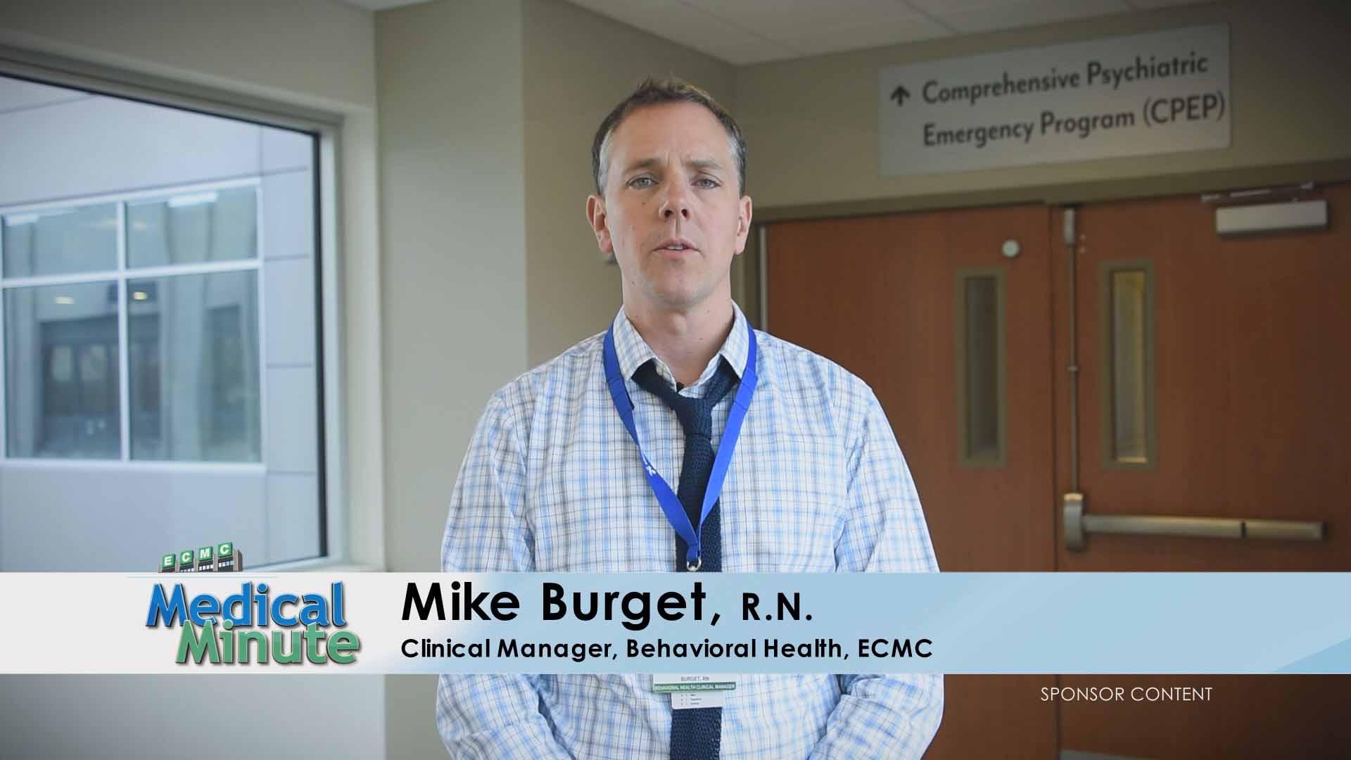 ECMC Medical Minute MikeBurget Suicide 051616 STILL