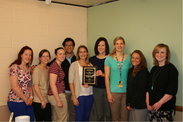 ECMC Physical Therapy Dept. At School 84 Earns Clinical Education Award