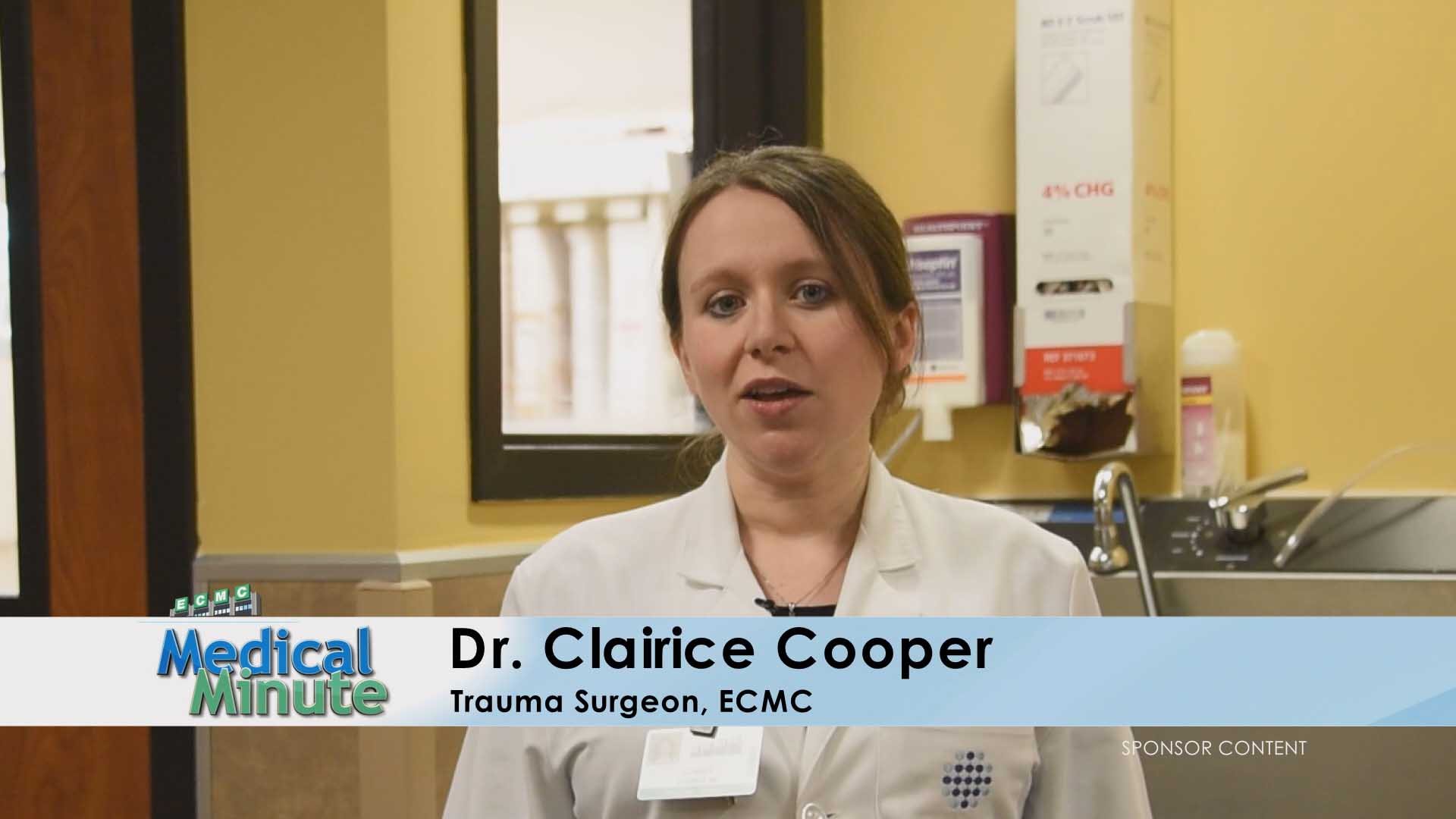 ECMC MEDICAL MINUTE DR.COOPER DROWSYDRIVING 08.15.16 still