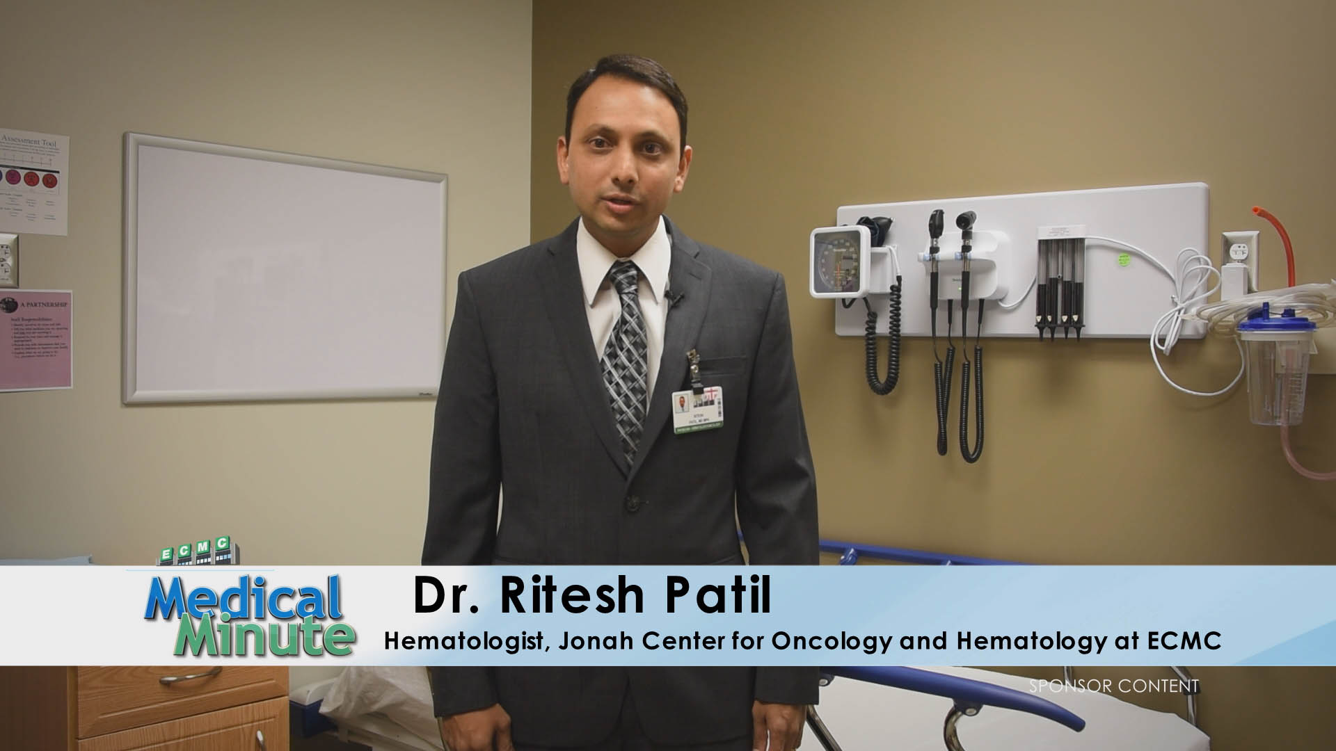 ECMC Medical Minute Dr. Patil Vitamin B-12 Deficiency 02.13.17