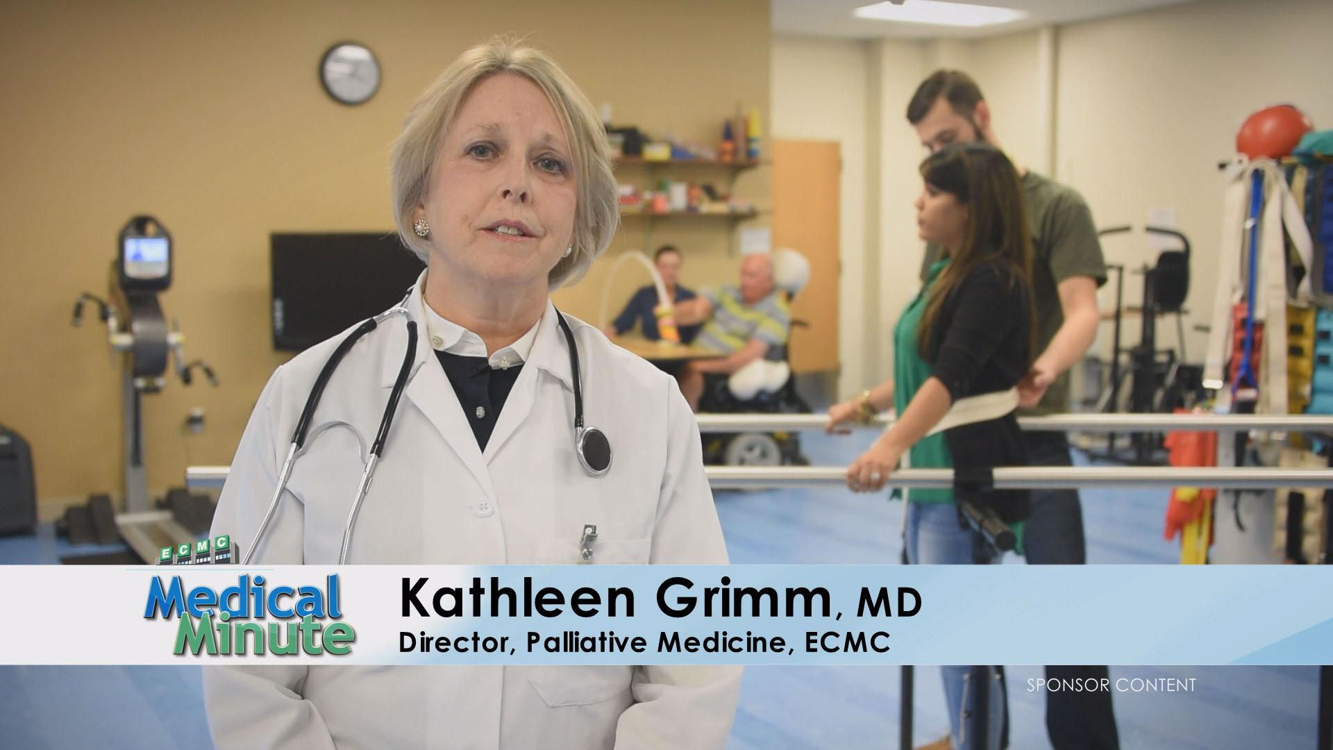 ECMC Medical Minute Dr.Grimm PalliativeCare 03.20.17