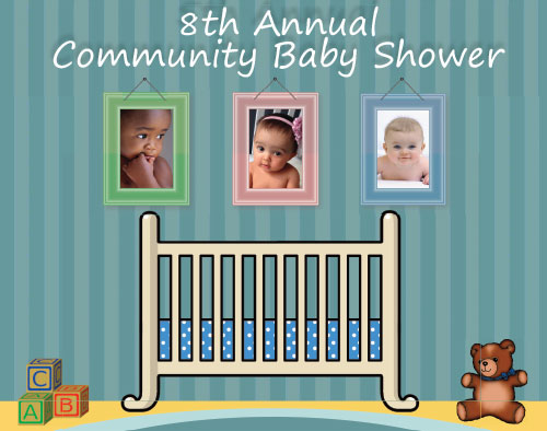 county and ecmc are proud to host the 8th annual community baby shower