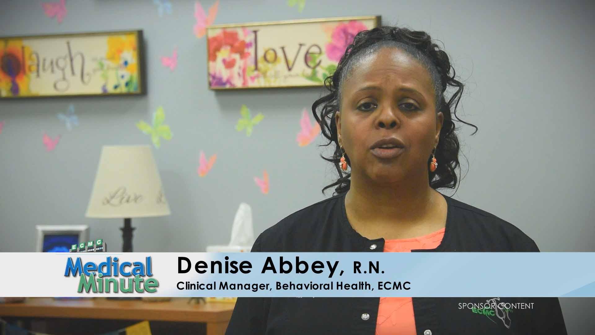 ECMC Medical Minute DeniseAbbey Depression 05.08.17