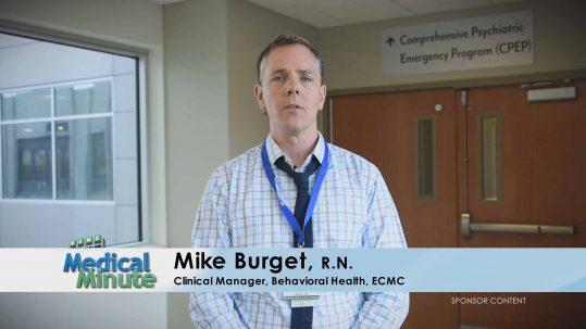 ECMC Medical Minute MikeBurget Suicide 05.22.17 STILL
