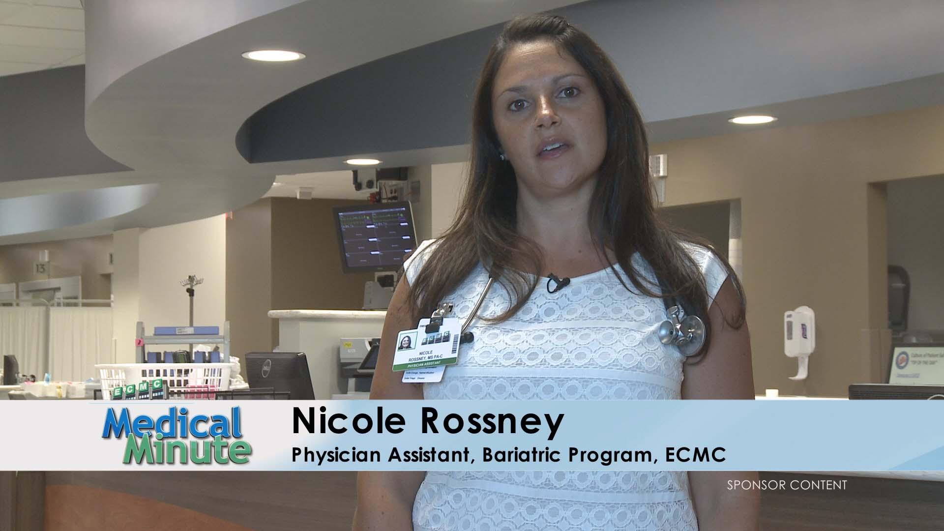 ECMC MEDICAL MINUTE NICOLE ROSSNEY OBESITY 07.17.17 STILL