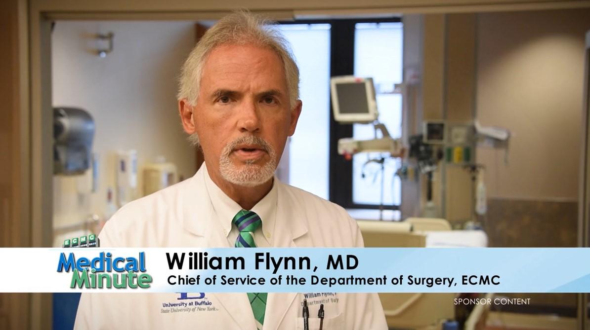 ECMC MEDICAL MINUTE DR. FLYNN TREE STAND SAFETY STILL 10.30.17
