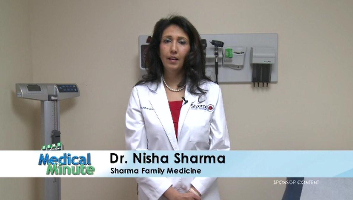 ECMC MEDICAL MINUTE DR. SHARMA SAD STILL 12.04.17