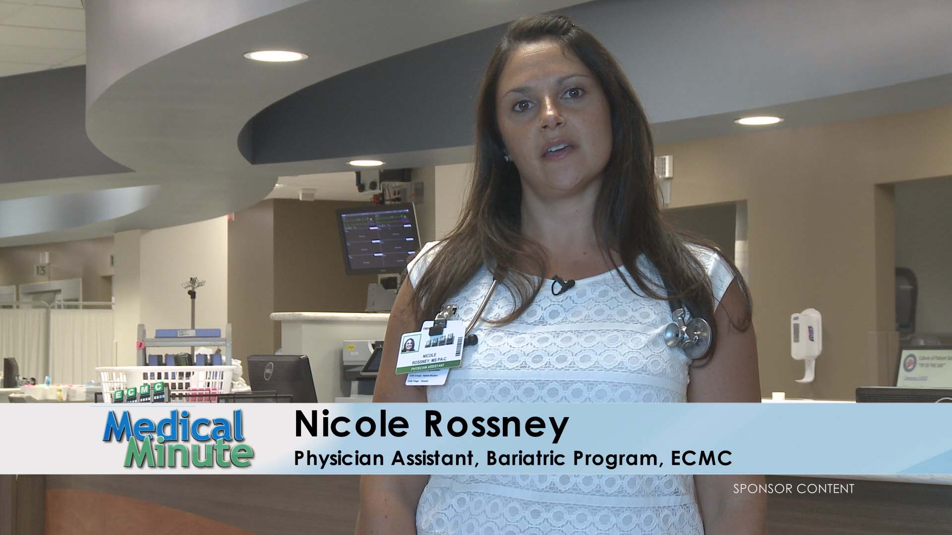 ECMC MEDICAL MINUTE NICOLE ROSSNEY OBESITY 01.01.18 STILL