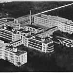 Buffalo City Hospital. Reproduced by permission of the Buffalo & Erie County Public Library, Buffalo, New York.
