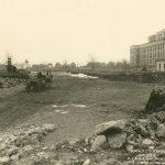 Buffalo City Hospital construction, 1917-1920. Photo courtesy of the Buffalo History Museum, used by permission.