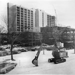Construction of ECMC in the 1970s.