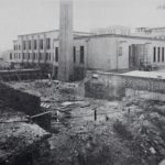 Construction of Buffalo City Hospital, 1917-1920. Photos from A Surgical Program Comes of Age, 1941-1962.