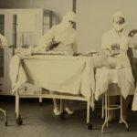 Surgery prep at Buffalo City Hospital.