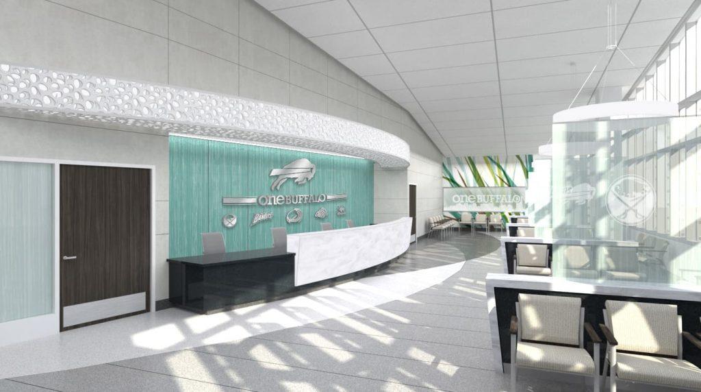1-ECMC One Buffalo Waiting Room, view 1