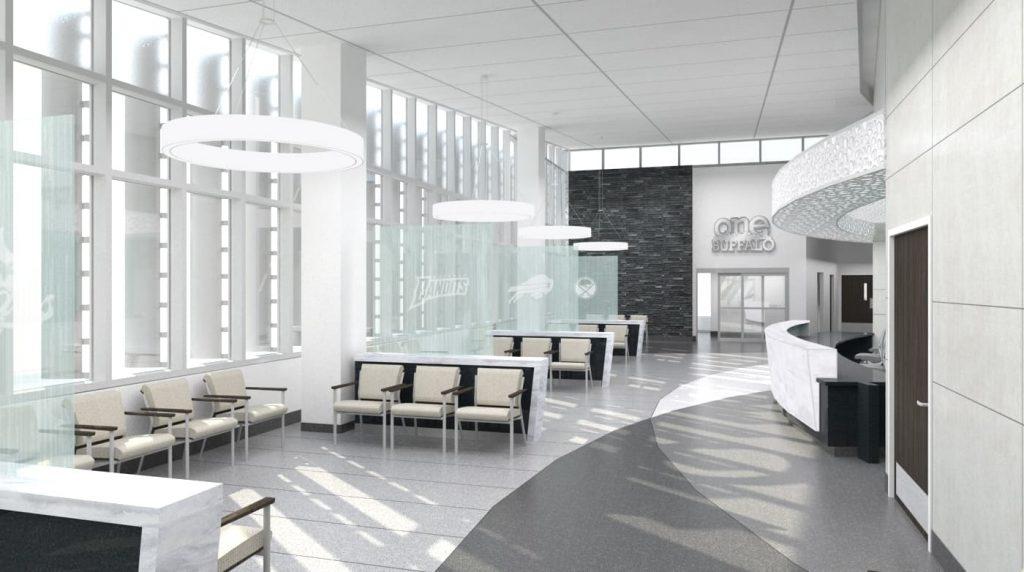 2-ECMC One Buffalo Waiting Room, view 2