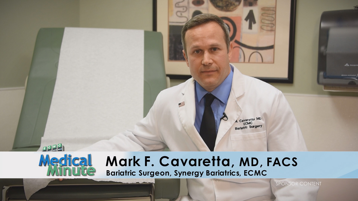 ECMCMedicalMinute-Dr.MarkCavaretta-SleeveGastrectomySurgery-081318-STILL