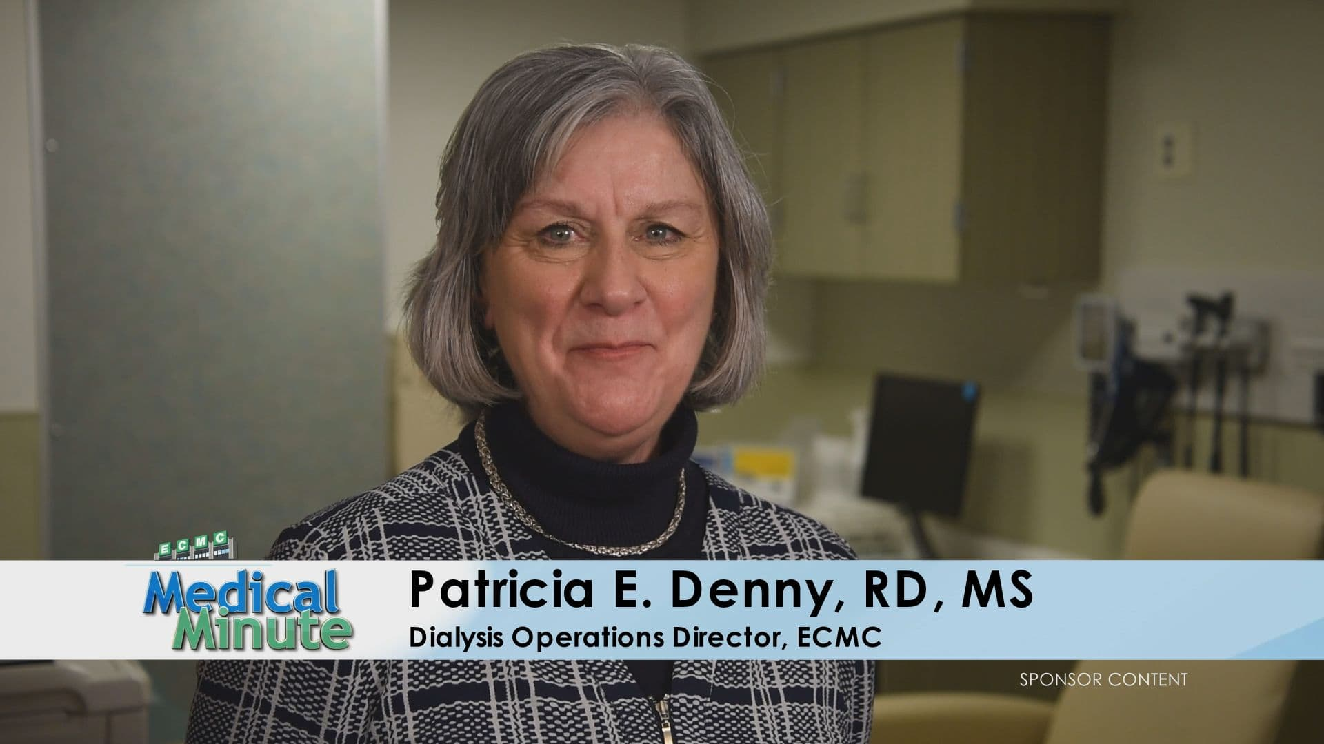 ECMCMedicalMinute PatriciaDenny,RD,MS KidneyDiseasePatientEducationSessions 123118 STILL
