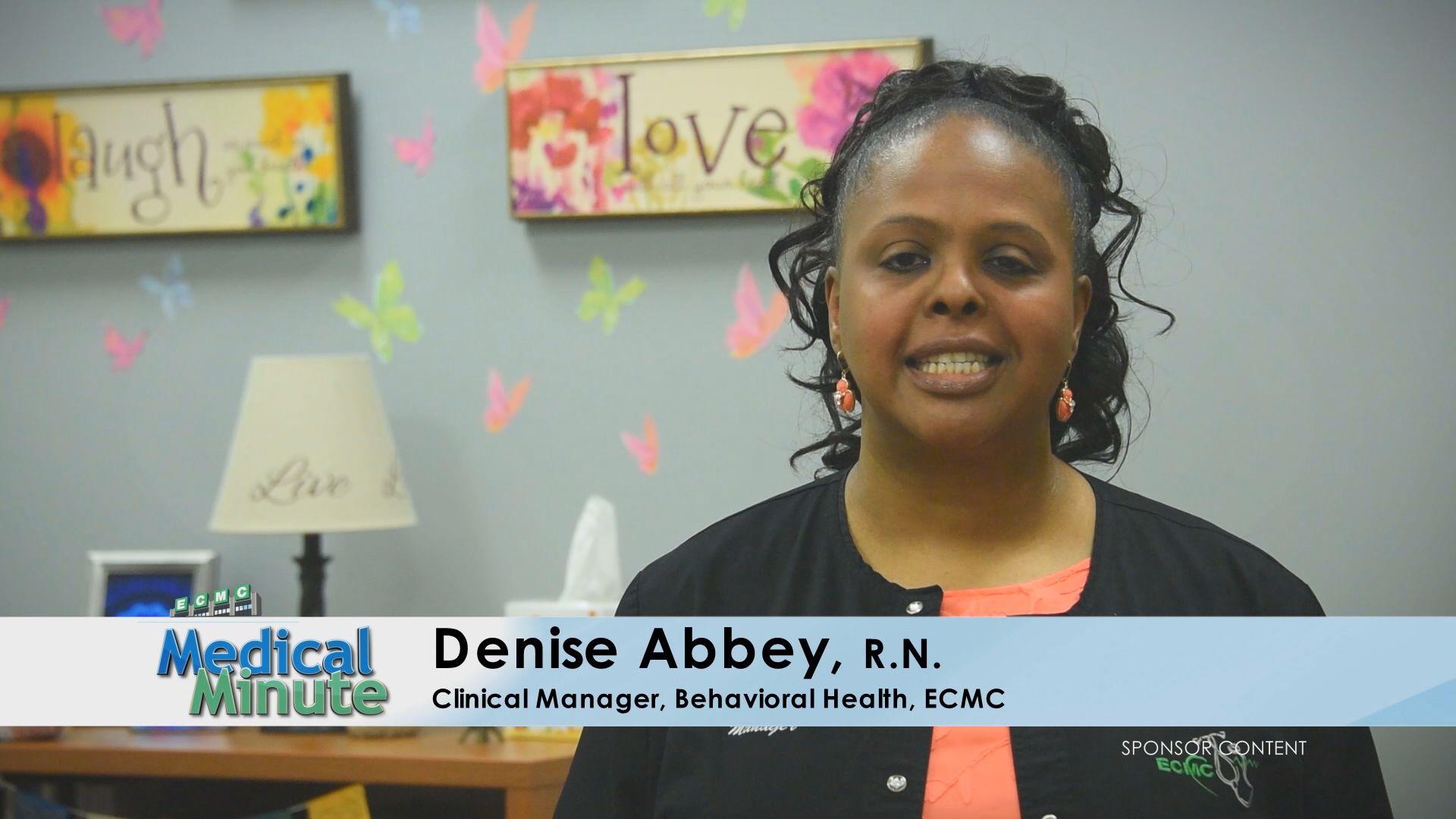ECMCMedicalMinute DeniseAbbey Depression 051319 STILL