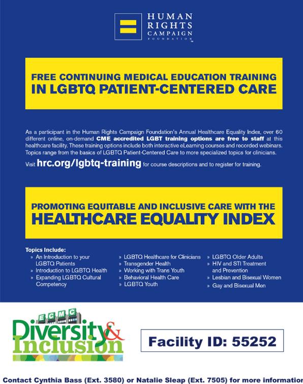 LGBTQ+ Training
