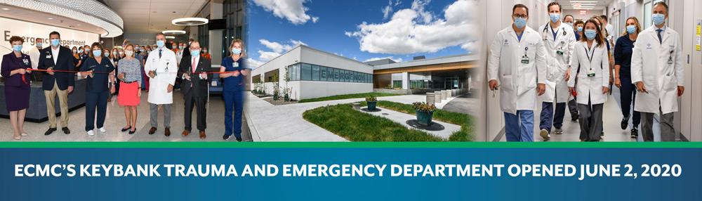 ECMC's Keybank Trauma and Emergency Department Opened June 2, 2020