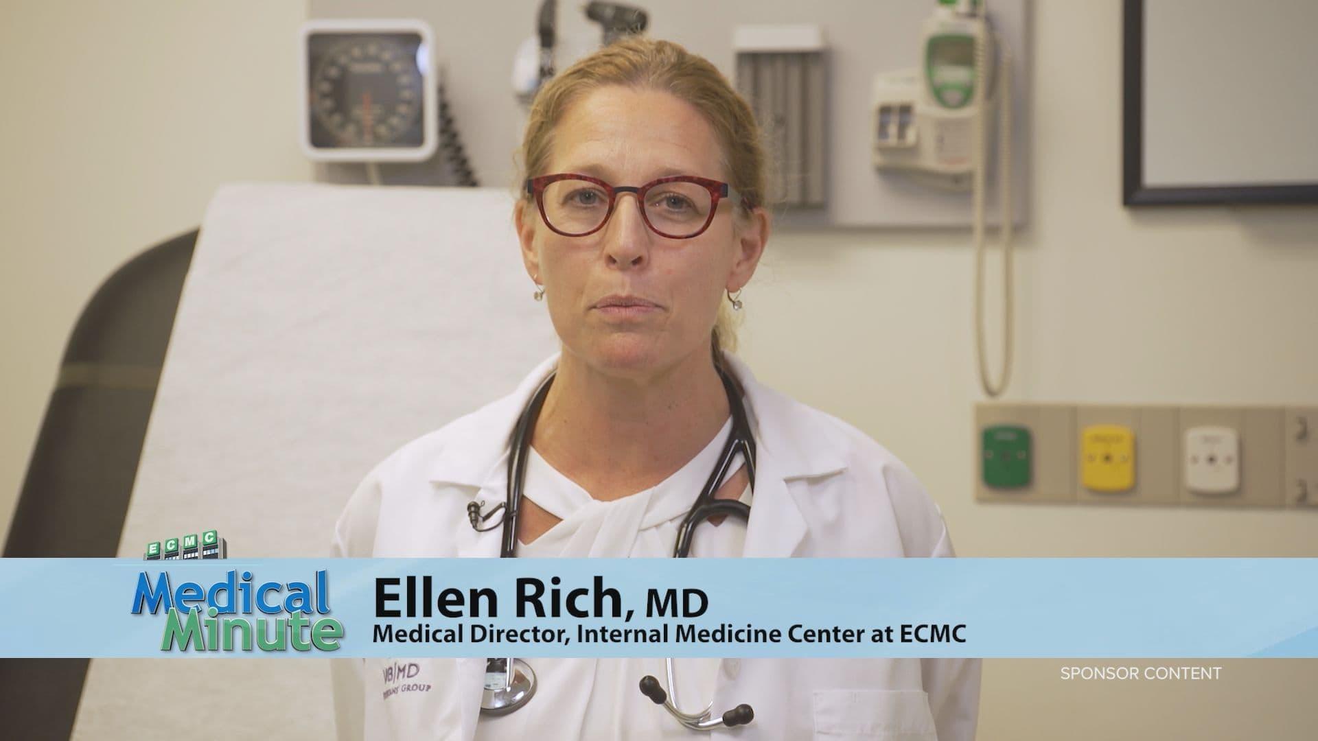ECMCMedicalMinute EllenRich AnnualPhysical 091420 STILL
