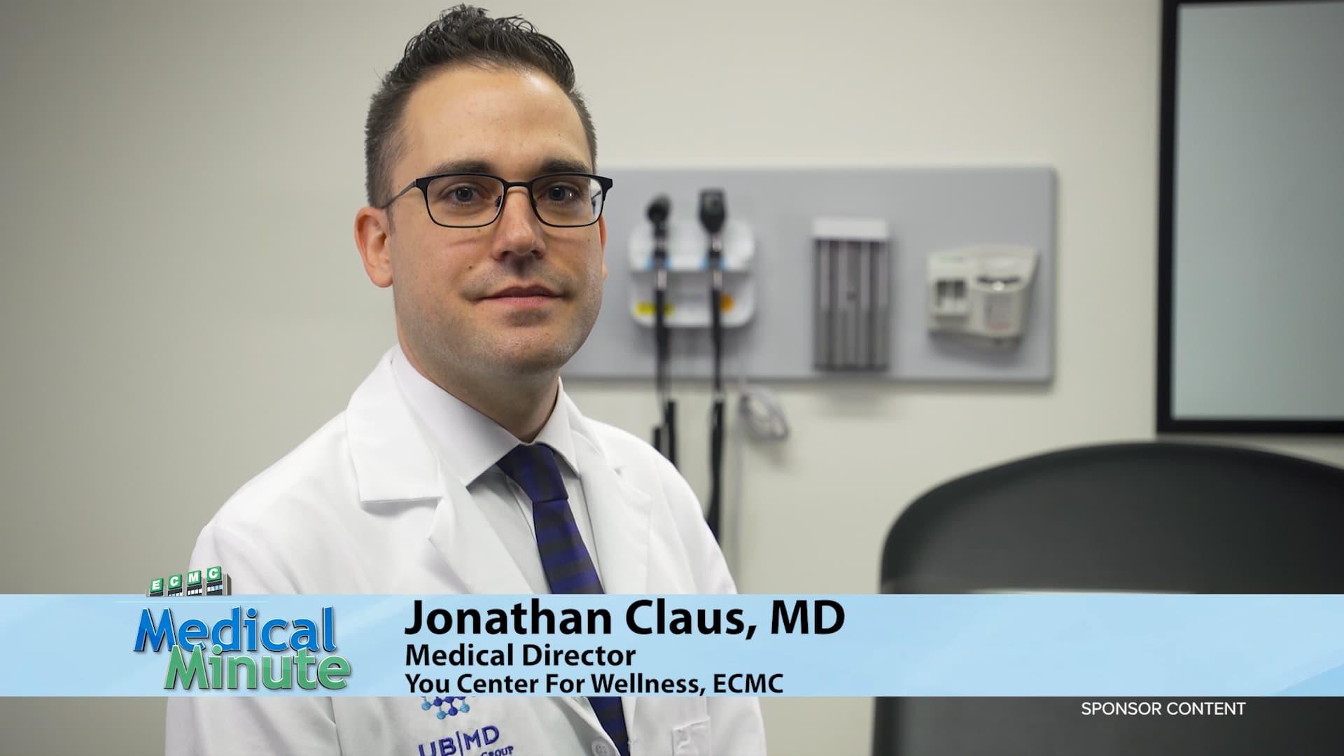 ECMCMedicalMinute Dr.JonathanClaus PrEPYouCenterForWellness 102620 STILL