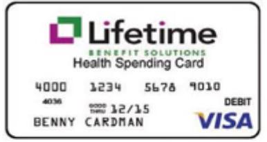 Lifetime Benefits Card