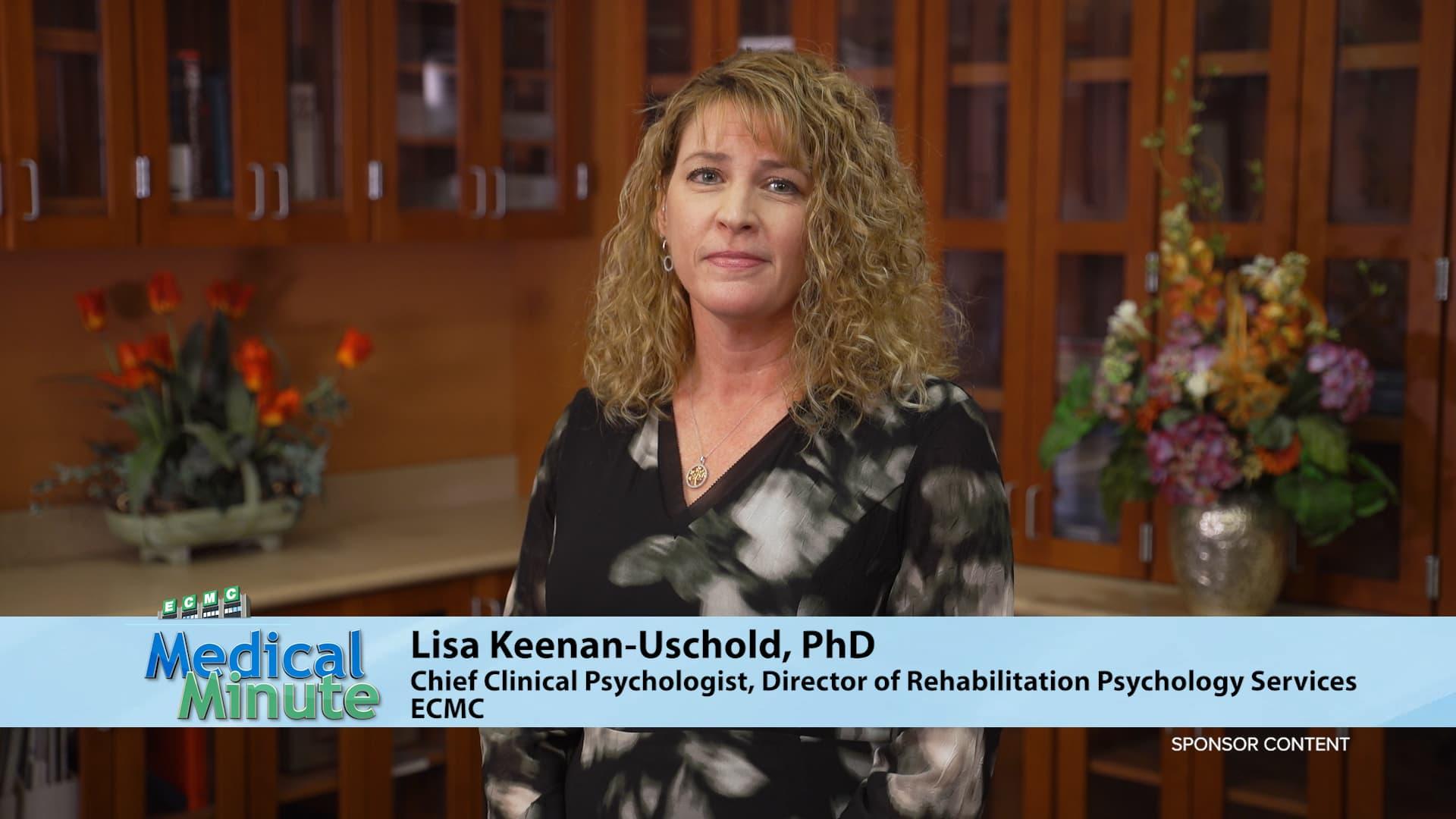 ECMC Medical Minute Dr. Lisa Keenan-Uschold Managing Stress during the P...