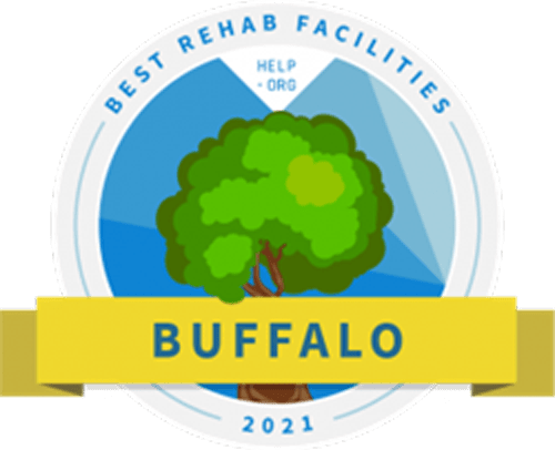 Best Drug and Alcohol Rehab Centeer in Buffalo award