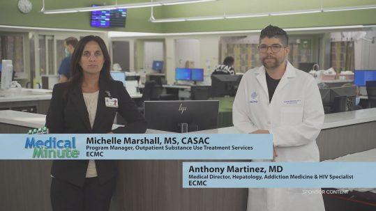 ECMCMedicalMinute MichelleMarshall&AnthonyMartinez OpioidOverdoseAwareness 083120 STILL