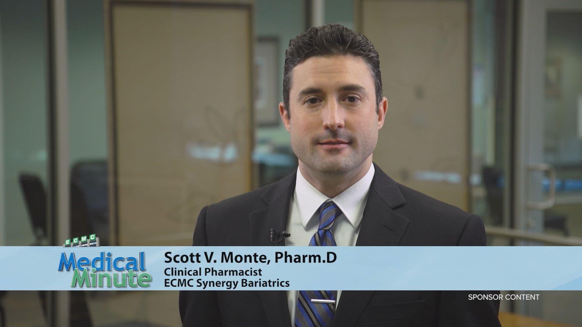 ECMCMedicalMinute DrScottMonte RecoveryAfterBariatricSurgery 022221 STILL
