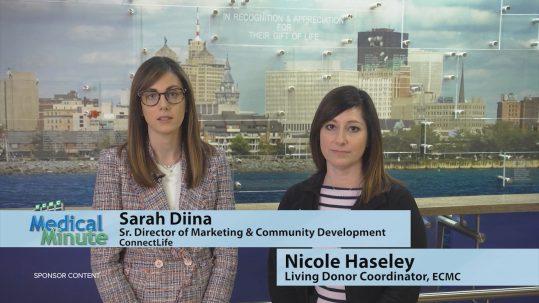 ECMCMedicalMinute SarahDiina&NicoleHaseley OrganDonation 040521 STILL