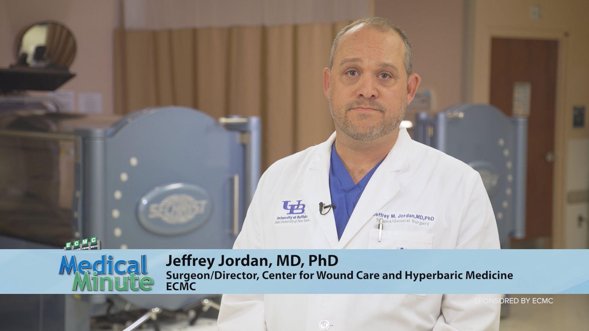 ECMC - Medical Minute Dr. Jefferey Jordan - Wound Care Awareness 06:07:2021
