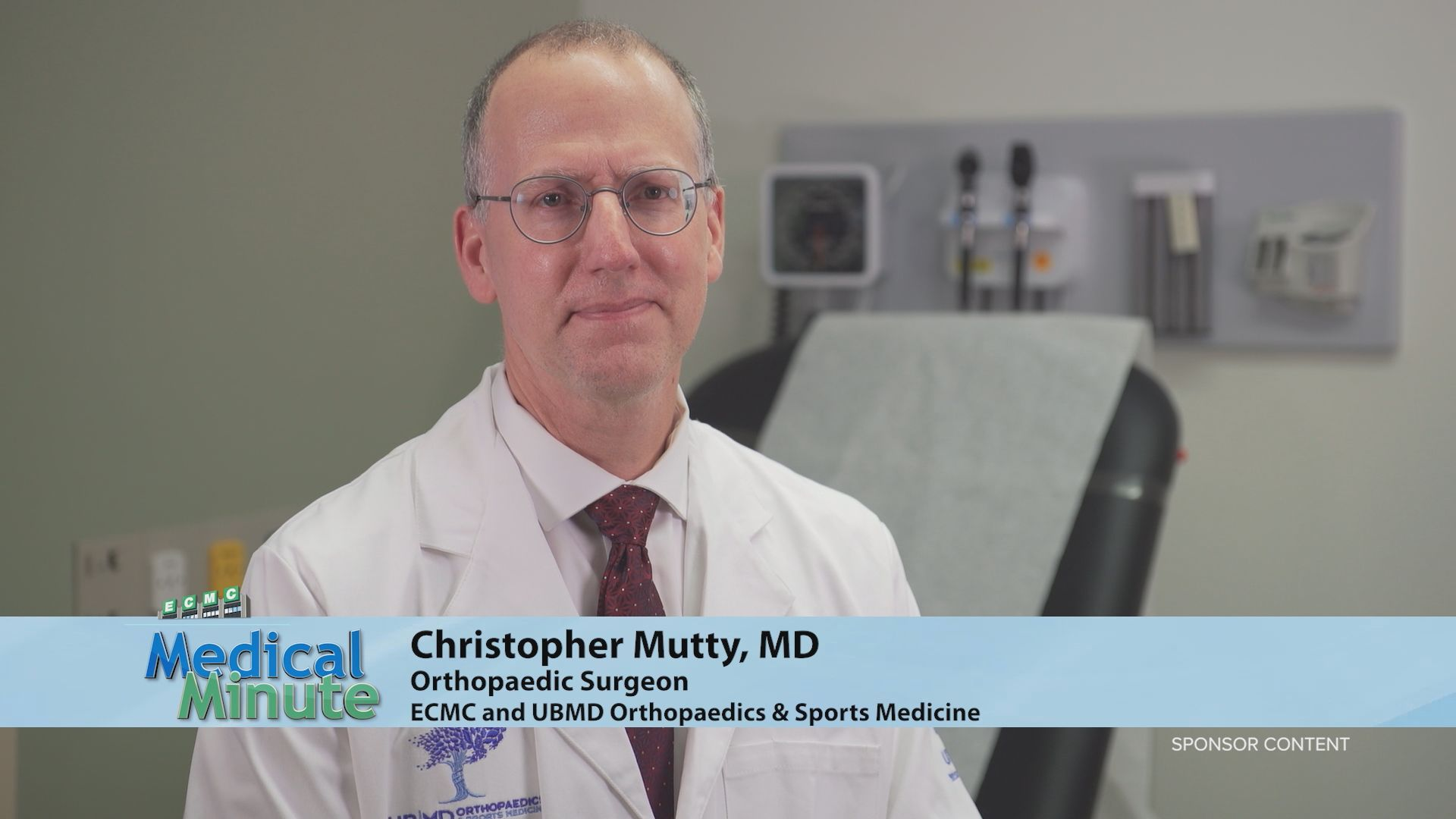 ECMC Medical Minute - Dr. Christopher Mutty - Fracture Care 08:02:21 STILL